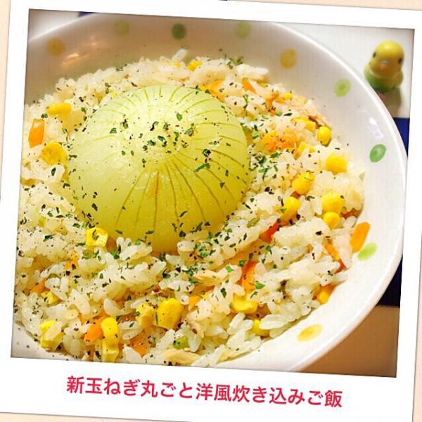 玉ねぎ 炊き込み ご飯
