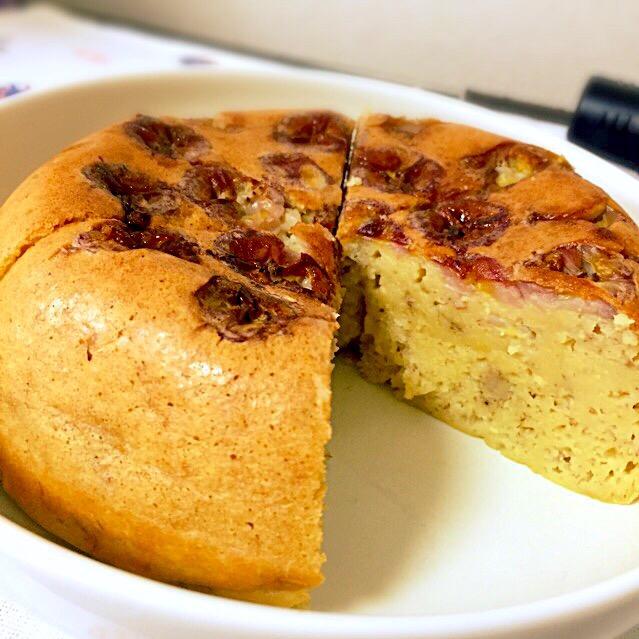 豆腐 バナナ ケーキ