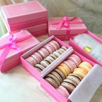 Homemade Assorted Macarons. マカロン