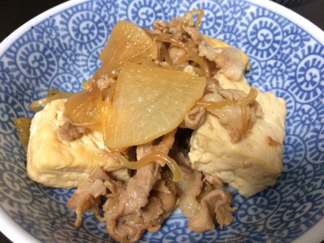 肉 豆腐 しらたき