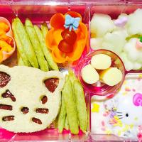 Hello Kitty Inspired Bento Lunch