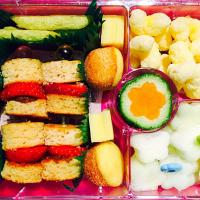 Flowers and Shapes Bento Lunch