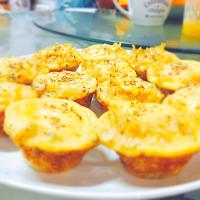 Omelette Potato Cheesy Muffin