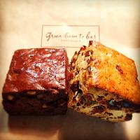 green bean to bar chocolate/scone