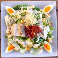 Chicken + Avocado Caesar Salad