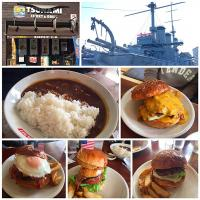 Yokosuka Navy Burger & Curry@横須賀Tsunami