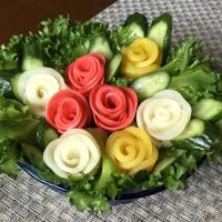 ✨Pickled veggies Rose Bouquet...ピクルスで🌹フーケ✨