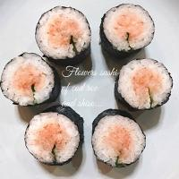 Miffy San's flower sushi