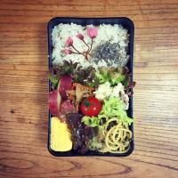 14 April 2017 #lunchbox #lunch #お弁当