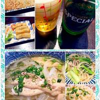 Today's Vietnamese Dinner🍻ヽ(´∀`)ノ