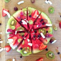 Watermelon pizza #rawvegandish