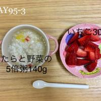 DAY95-3 #離乳食後期 #pianokittybabyfood