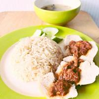 Kao man kai (Thai style Hainanese chicken with rice)  #Chicken #hainanese chicken #kaomankai #Thai cuisine #thaichiken