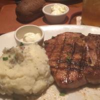 Pork Porterhouse w/mashed potatoes