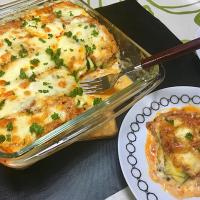 ✨ZUCCHINI LASAGNA...with lots of PARMIGIANO REGGIANO cheese🧀✨パルミジャーノレッジャーノチーズたっぷりのズッキーニラザニア🧀 Real parmigiano reggiano cheese goes well with this dish...このお料理に本物