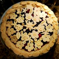 Blueberry and Blackberry pie for Sunday night dinner.