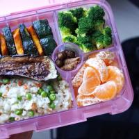 Salt/Sugar-Free Vegan Bento for Baby and Mommy | 塩・砂糖・卵・乳製品不使用お母さんと赤ちゃんのお弁当