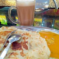 Roti  Chanai and Tea Trail #Malaysian cuisine  #Roti #teatarik