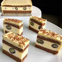 White Forest Cheesecake