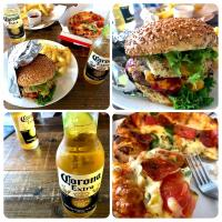 AMAGASAKI Burger, Pizza, Potato,🍔🍕🍟, CoronaBeeR🍻
