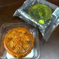 月餅 Mooncake  #mooncake  #starbucks  #Thai