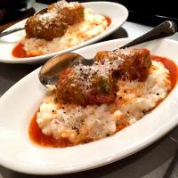 Cheese Risotto & Cabbage Roll