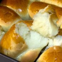 Soft and chewy roll bread