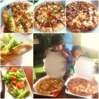 Sunday Brunch🍕🍻Domino's Pizza