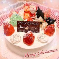 🎄Merry Christmas🎄 王道のクリスマスケーキ😊