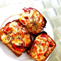 Pizza toast 🍕