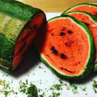 Watermelon Bread Art