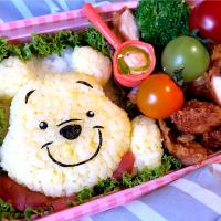 🍯Winnie the Pooh gluten free lunch🍯 プーさん小麦フリー弁当