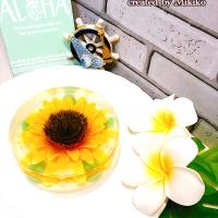 Sunflower jelly cake