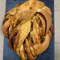 Sourdough Lemon Peel & Cardamom Twisted Brioche Bread