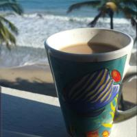 Coffee by the sea✌🏝🇵🇷🇵🇷