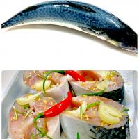 Preparation of mackerel dishes