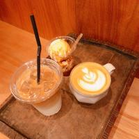 HOT LATTE     ICE LATTE     AFFOGATO