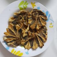 fried stringray dried fish