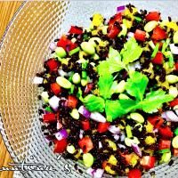 ✨黒米サラダ...BLACK RICE SALAD✨