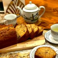 Banana loaf bread