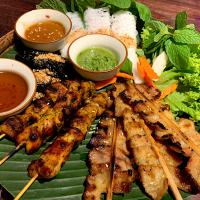Satay sticks