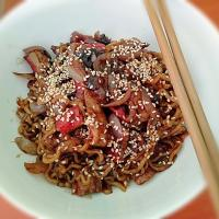 Breakfast - Bean Pasted Noodles