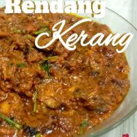 Rendang Kerang (slow cooked clam with variety of spices n coconut milk)