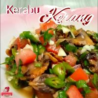 Kerabu Kerang (Clam with tomatoes, fish sauce, palm sugar, variety of chopped chillies, chopped garlic, lime juice n coriander leaf)