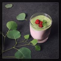 RASPBERRY MATCHA CHIA PUDDING