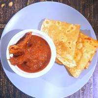 Spicy chicken curry# Chappathi# Indian