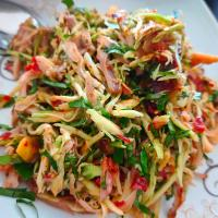 Chicken and Mango Salad.
