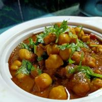 Chickpea curry...
