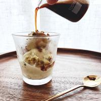 Pistachio Icecream Affogato