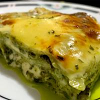 Creamy Chicken Pesto Lasagna